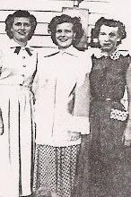 Pauline, Dixie, and Helen