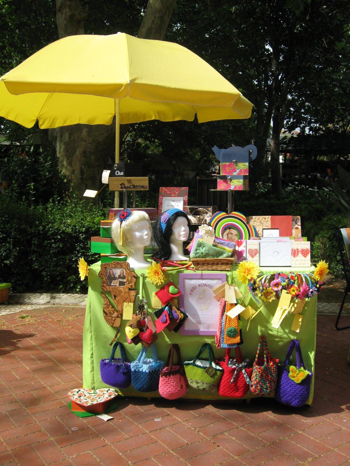 artesanato no jardim : Fikei Kontente - Artesanato: V Feira de Artesanato ...
