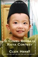 SI COMEL BERBAJU RAYA CONTEST....