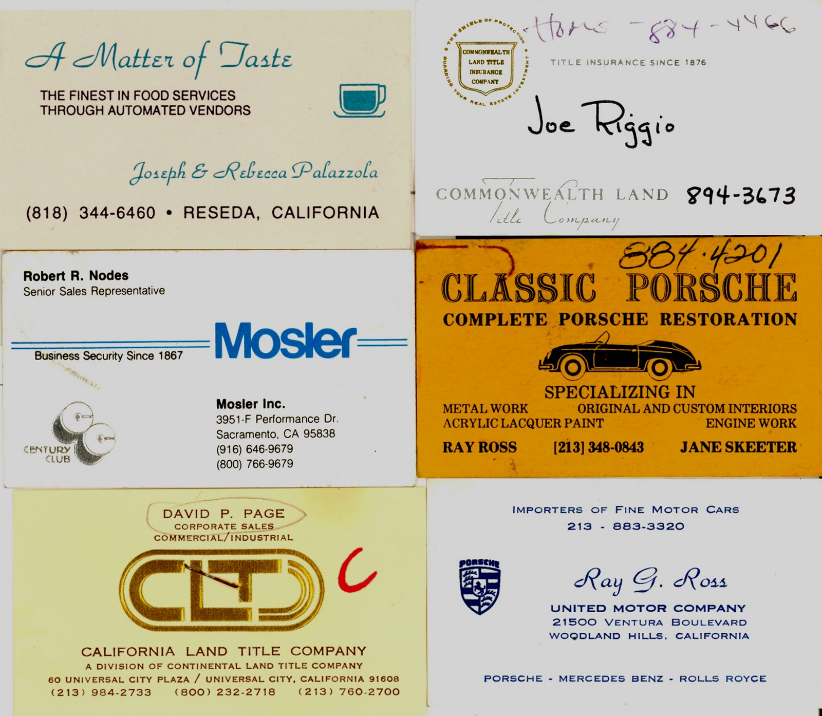 The Museum of the San Fernando Valley: COLLECTION OF VINTAGE ...