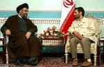 Ahmadinejad & Saeid Hassan Nasrollha had meeting about crack down demonstrators in iran