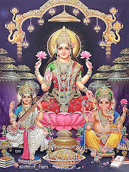 Mother lakshmi and Divali Deties