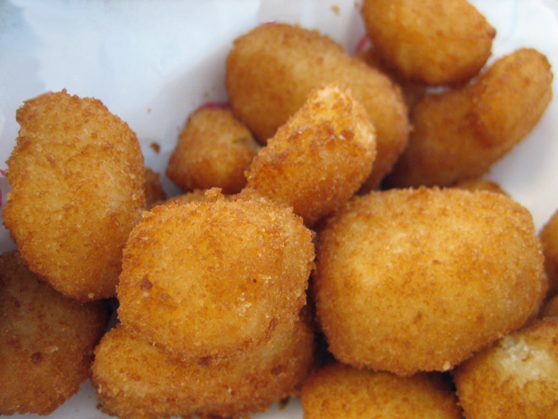 how to make fried cheese curds