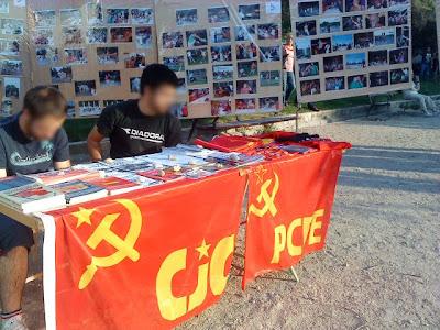 Los comunistas del PCPE y CJC en las fiestas de Carabanchel Alto DSC00200