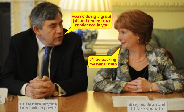 Gordon Brown sacks everyone responsible - only himself left