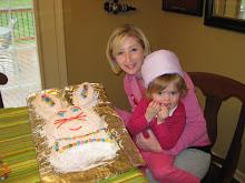 Wilson bunny cake - Easter 2009