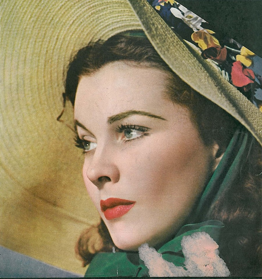 Vintage photography vivien leigh in gone with the wind for Who played scarlett in gone with the wind