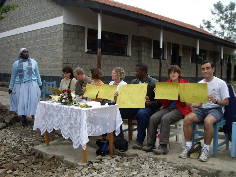 acogida en la Escuela primaria de Saint Joseph Freinandemetz (Ruai)