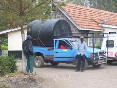 el tanque de agua 1100 litros