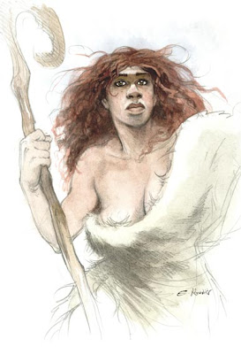 Illustration issu d'une BD de l'auteur : Vo'houna