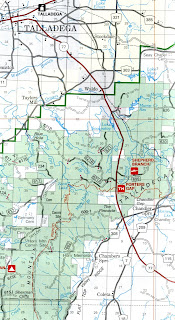 Government Documents for You Talladega National Forest Map