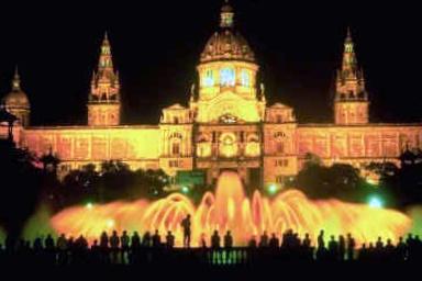 Rincones secretos de barcelona el espect culo de la for Espectaculo fuentes de montjuic