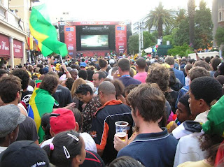 you see that guy on the left with the Brazilian flag? Fuck that loud motherfucker. I don't care how nice of a job they're said to do when you need your roof replaced.