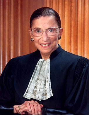 how tall is judge ginsburg