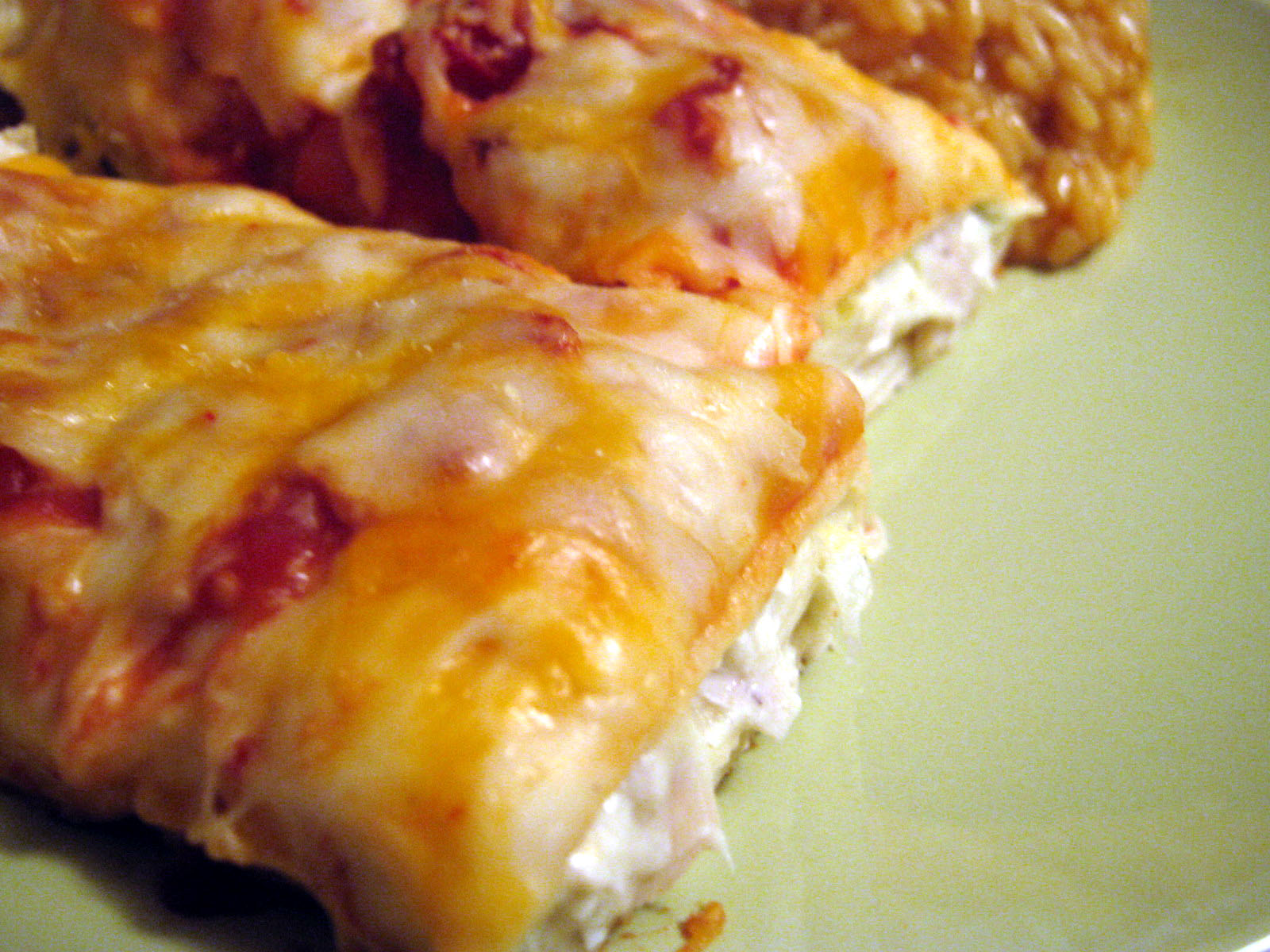 Easy Peasy Lemon Squeezy: Chicken Enchiladas II