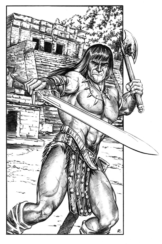 Conan the barbarian hentai nude image
