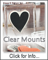 Check Out the NEW Clear-Mount Rubber Stamps!