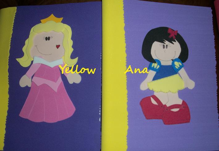 El Rincon de Yellow Ana: Cuadernos decorados