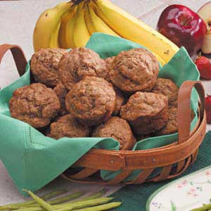 Honey Banana Muffins Recipe