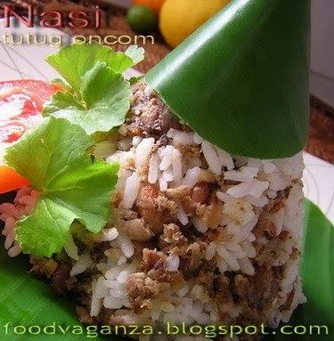 Indonesian Food Week NCC: Nasi Tutug Oncom dari Jawa barat