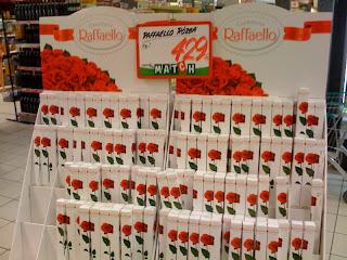 valentin napi csoki és rózsa, csokirózsa