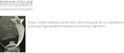 Rodan and Fields Dermatologists is celebrated as the 2010 Rising Star by the DSA