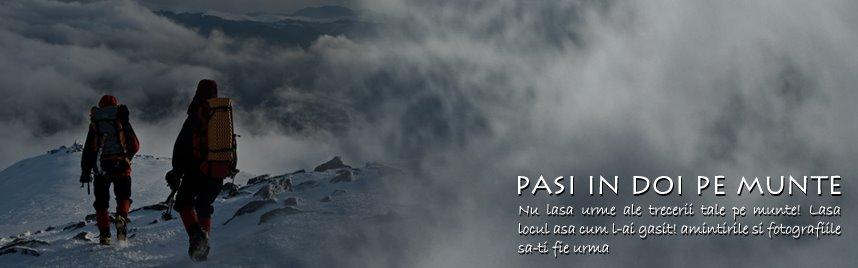 Pasi in 2 pe munte