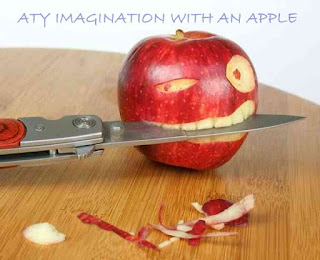 Atishay jain imagination with an apple