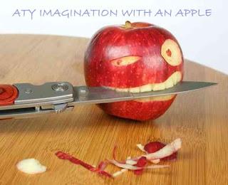 Atishay jain imagination with an apple