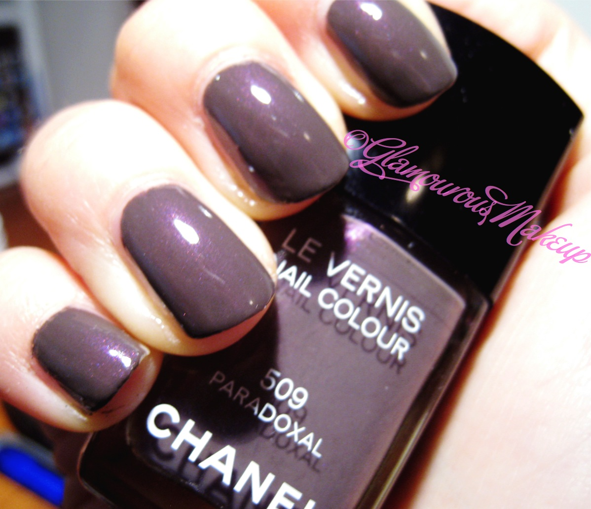 Swatch Post: NOTD Paradoxal & Naked palette... - GLAMOROUS MAKEUP