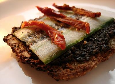 Oppskrift Vegan Vegetar Pålegg Brødskive Oliventapenade