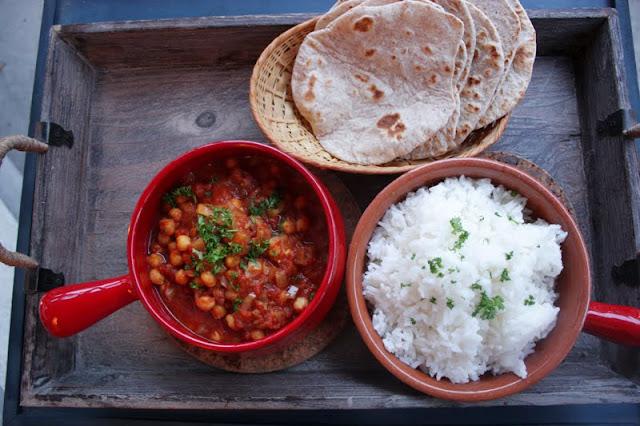 Oppskrift Chana Masala Indisk Vegetarmat Veganmat Kikerter