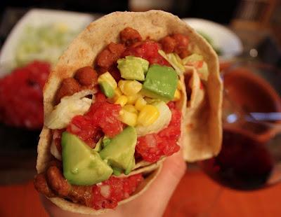 Oppskrift Chapati Taco Vegetar Vegan Lefser