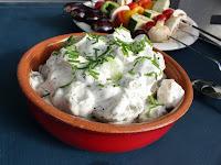 Potetsalat Vegan Majones Uten Egg Mayo
