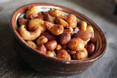 Oppskrift Vegan Tapas Vegetartapas Tips Ristede Nøtter Macadamia