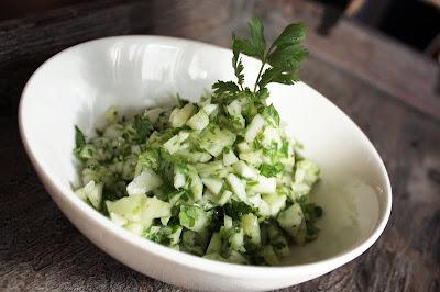 Oppskrift Forslag Tapas Hjemmelaget Vegetartapas Vegan Agurk Koriander