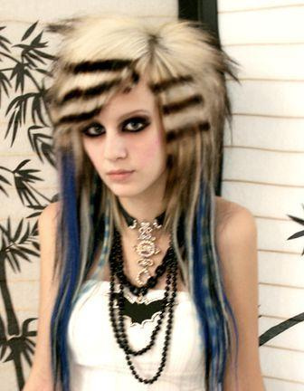 short punk hairstyles for girls.