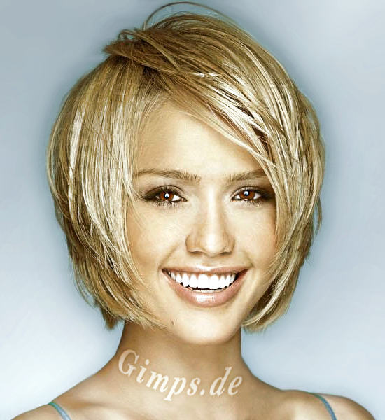 Short Hairstyles For Round Shaped Faces