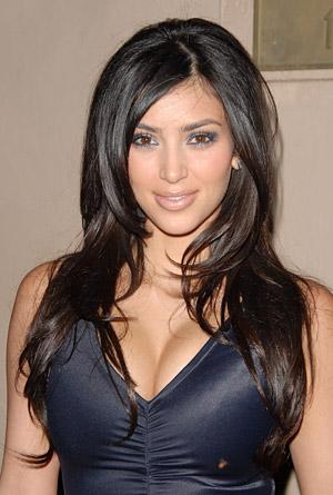 kim kardashian hair extensions. Kim Kardashian Hairstyles