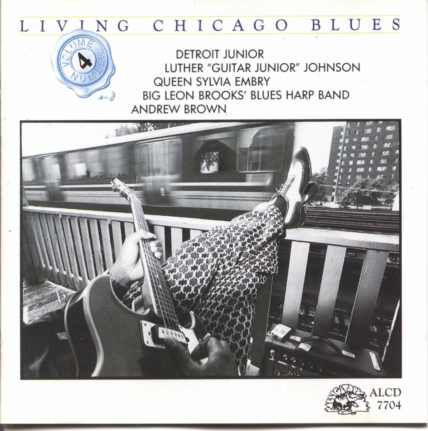 A rodar  VII - Página 2 V.A.+-+Living+Chicago+Blues+Vol.4+-+Front