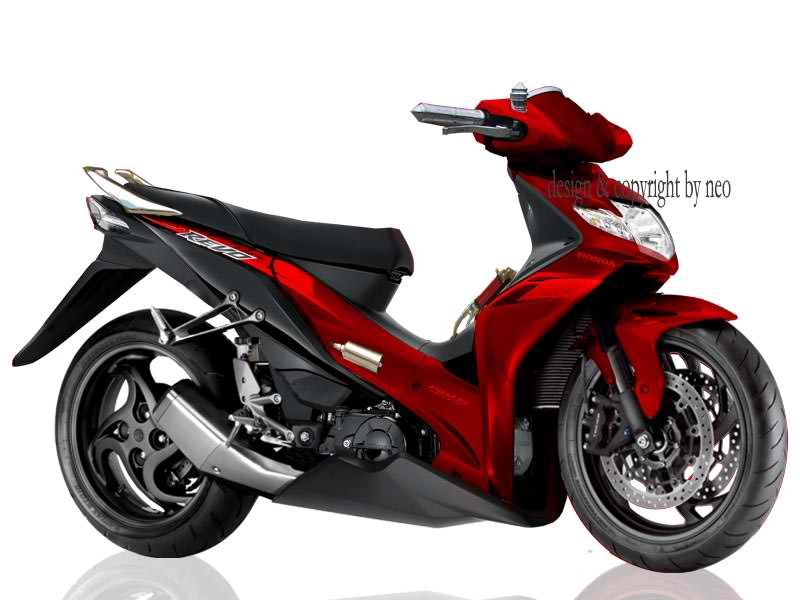 Foto Modivikasi Motor Honda New Absolute Revo 2010