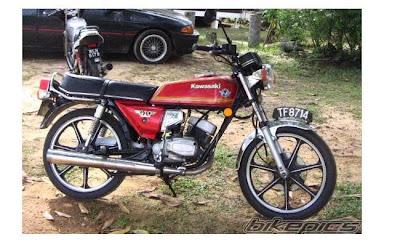 Motor Kawasaki GTO 125 cc King Antik