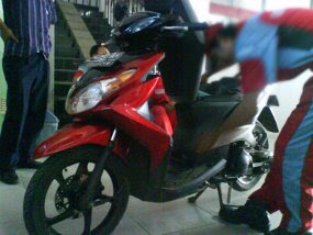 New Yamaha Mio 125 Thailand Photos