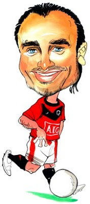 MU Dimitar Berbatov Caricature Wallpapers