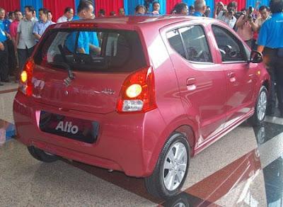 2010 Suzuki Alto Report