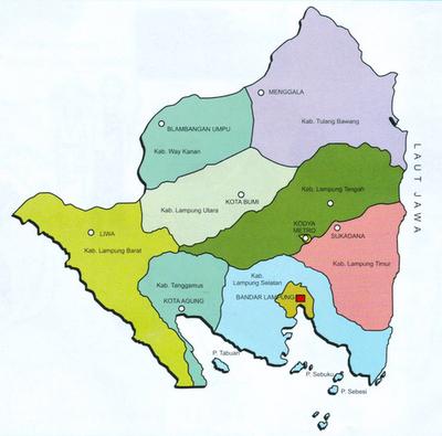 Download Peta Banten Dalam Ukuran Besar - Gudang Wisata