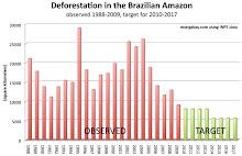 Deforestación Observada y Proyectada de la Selva Amazónica Brasileña