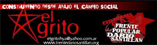elgrito en el Frente Popular Darío Santillán