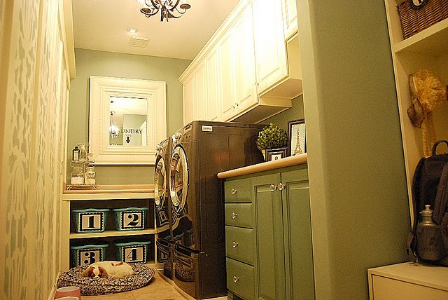 Someday Crafts: Lovely Laundry Rooms