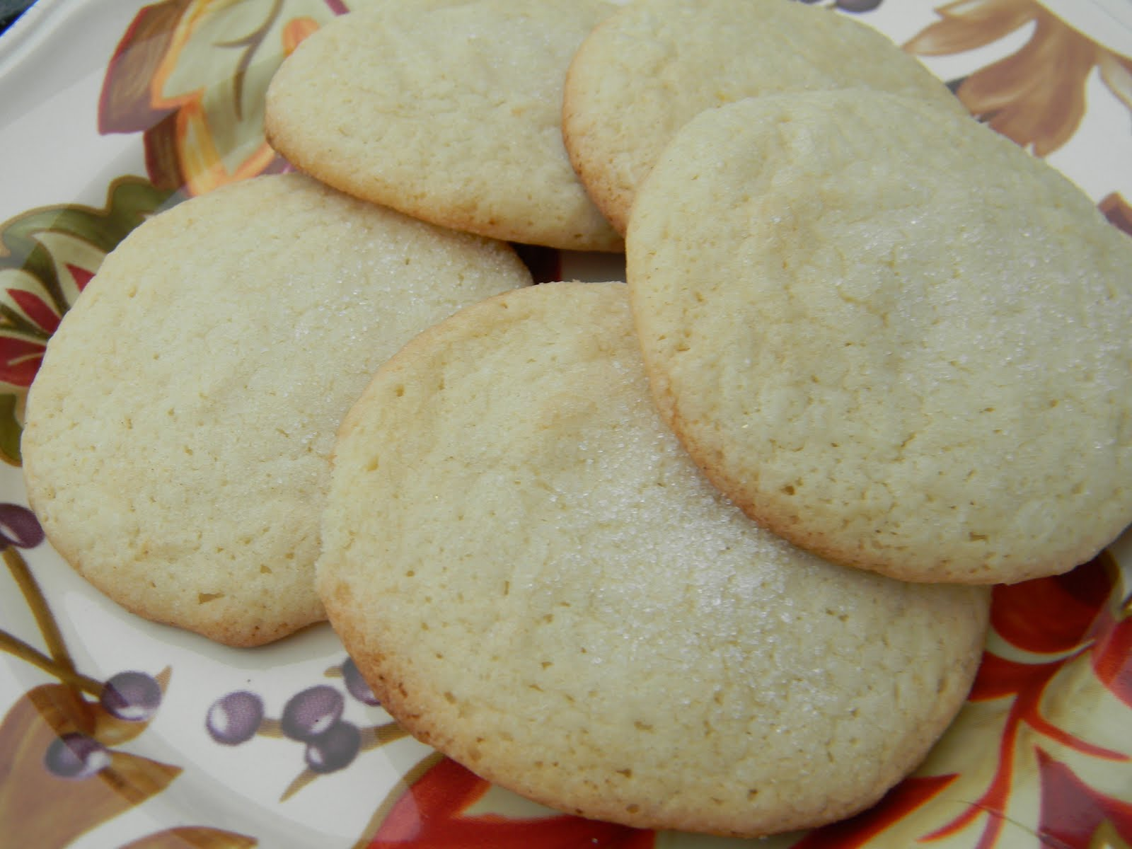 Musing Potpourri: Old Fashioned Sugar Cookies